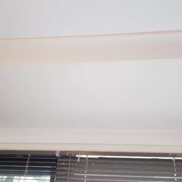 Damaged hole in ceiling after
